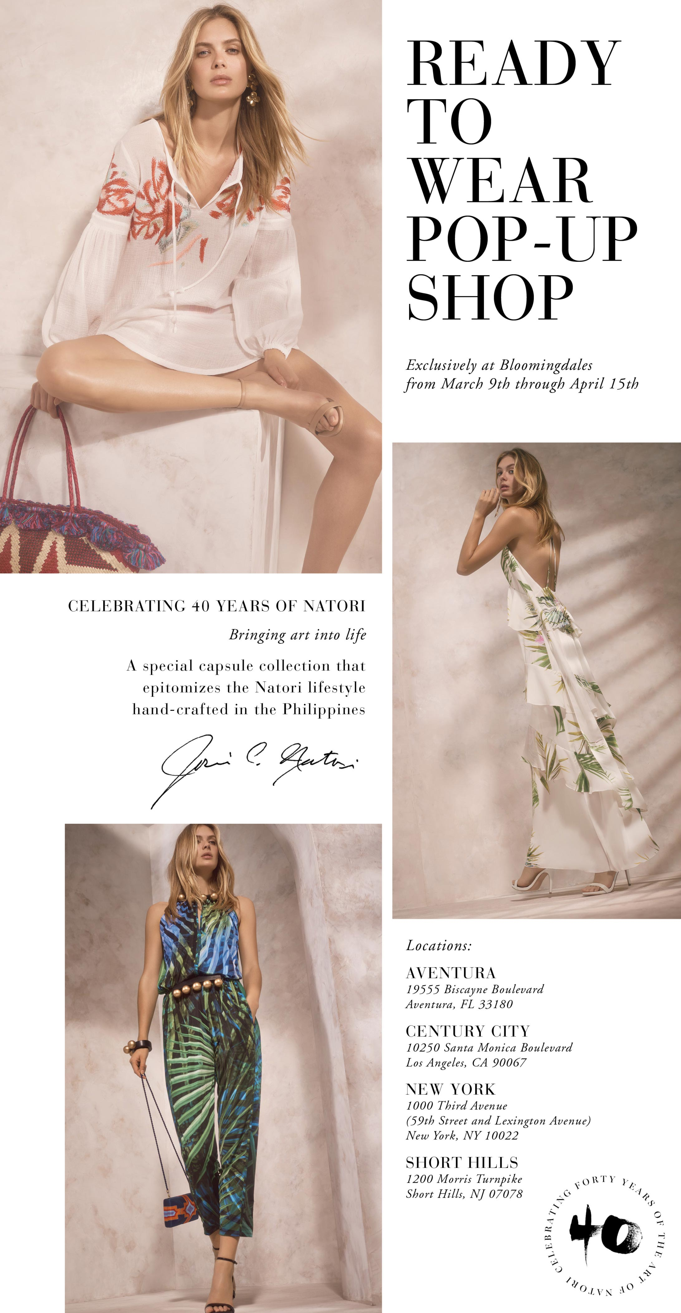 Natori Pop-up Shop