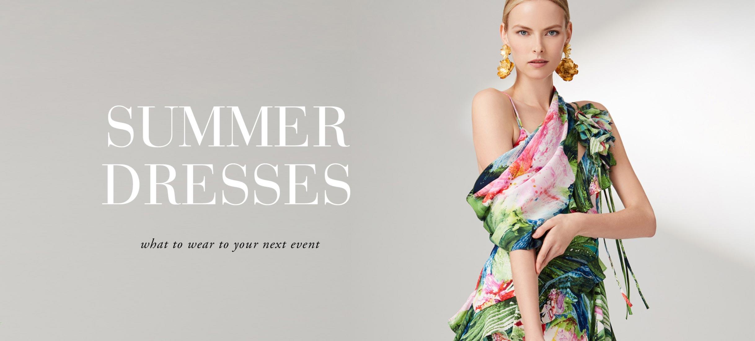 Josie Natori: Summer Dresses