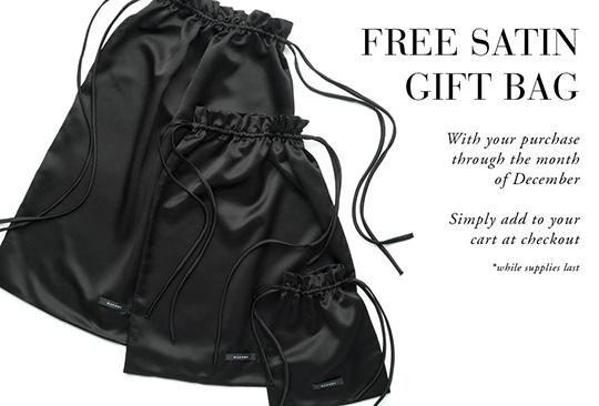 Free Satin Gift Bag