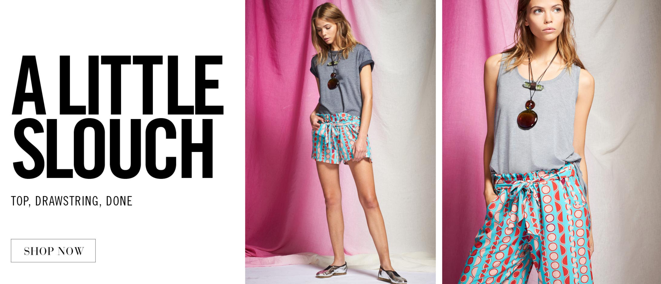 Josie: Printed & Playful with a Little Slouch