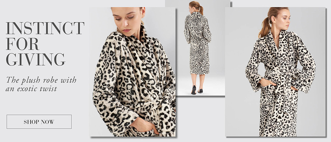 N Natori: The Plush Robe with an Exotic Twist